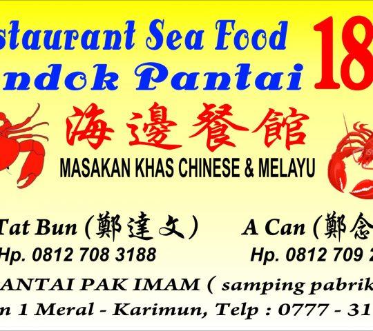 Restaurant Seafood Pondok Pantai 188